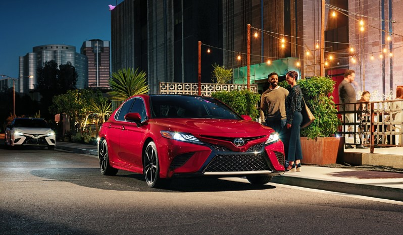 تويوتا كامري Grande Hybrid 2019 ممتليء
